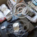 PM localiza barras de maconha e cocaína