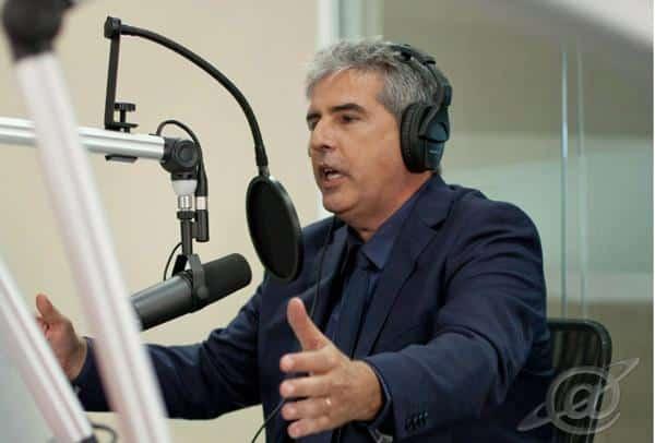 Foto do radialista Sapia