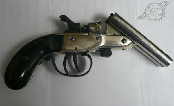 Arma semelhante a encontrada