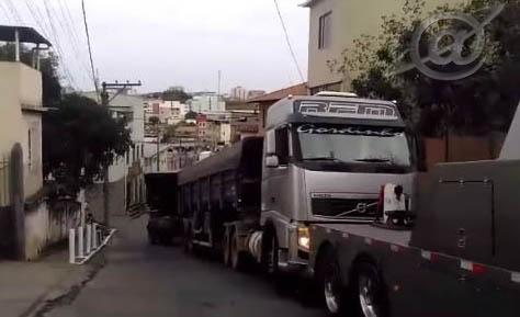 reboque da carreta
