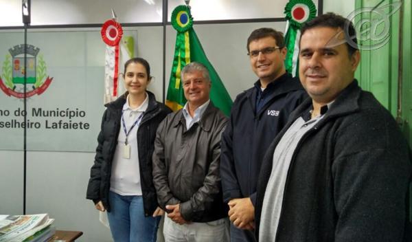 Foto: Assessória de Comunicação – PMCL / Encontro com representantes da VSB