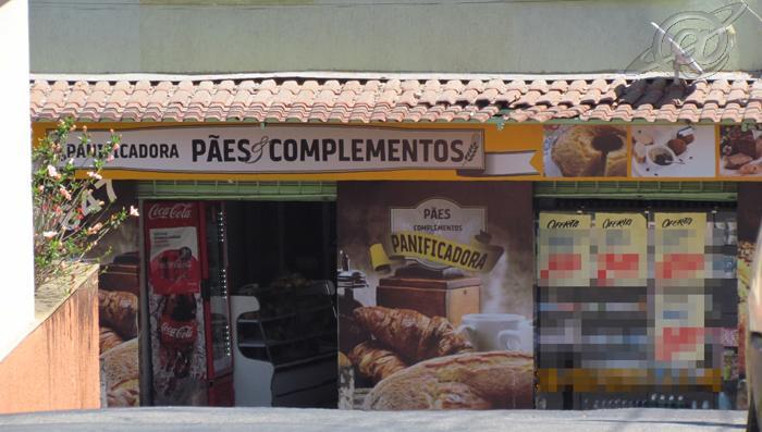 Foto: Jornalista Carlos Pacelli / Estabelecimento comercial onde ocorreu o assalto
