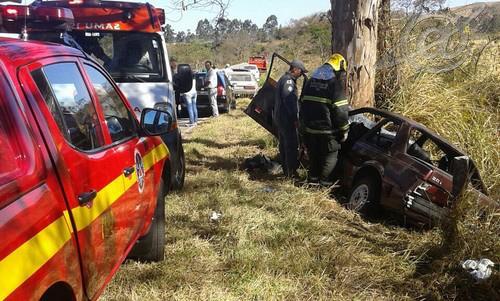 Foto: BMMG/ Local do acidente