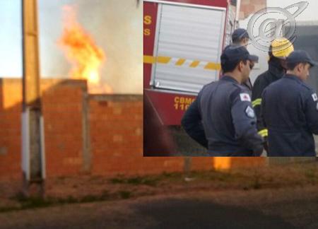 Foto: BMMG - Local das chamas