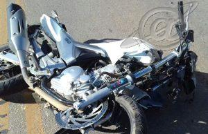 Motociclista ferido