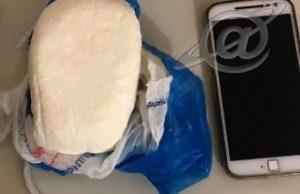 Meio quilo de Cocaína