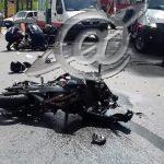 Motociclista morre
