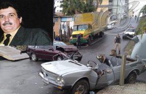 Após acidente