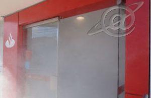 Fumaça no Banco Santander