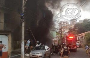 Criança morre durante incêndio