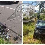 Casal vítima de acidente