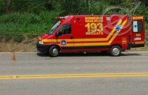 Acidente na rodovia BR-040