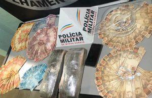 Preso por tráfico de drogas