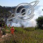 Bombeiros de Congonhas combatem