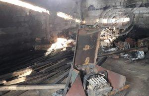 Depósito de funerária fica destruído
