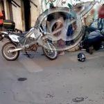 Policial PM, sofre acidente